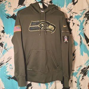 Nike x Seahawks x US Army Hoodie